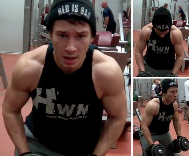 MariuszLutka: Back and Arms Workout