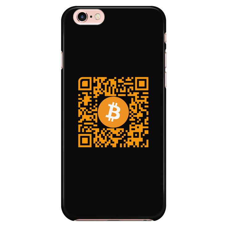 iPhone 6/6s Phone Case with Custom QR Code Black