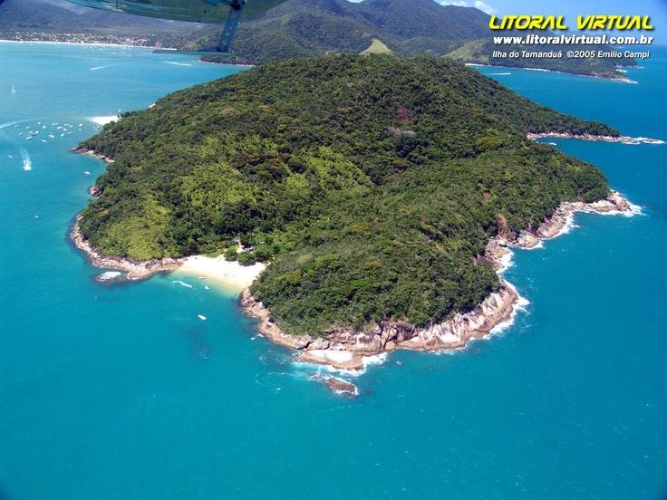 Ilha do Tamanduá - Caraguatatuba