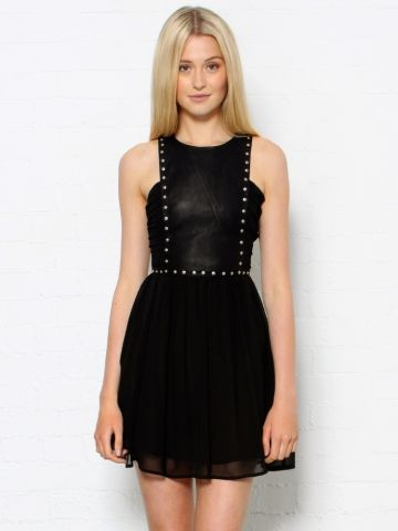 Mini Studded Dress, from Style Stalker