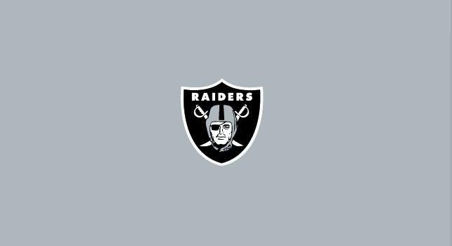 Oakland Raiders 8' Pool Table Cloth