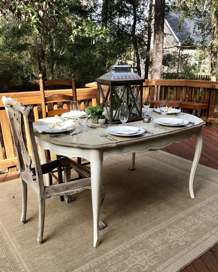 French country dining room table