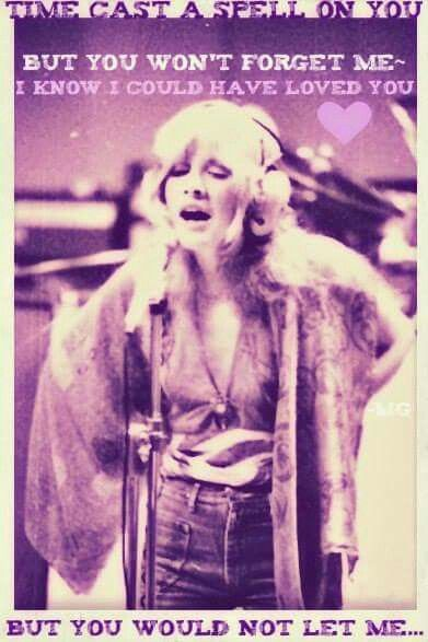 a superb photo edit of Stevie ~ ☆♥❤♥☆ ~ using a few lines from her iconic song 'Silver Springs' which she wrote in 1977 ~ https://youtu.be/rYwk8IE38PA ~ https://en.wikipedia.org/wiki/Silver_Springs_(song) ~ http://www.azlyrics.com/lyrics/stevienicks/silverspring.html
