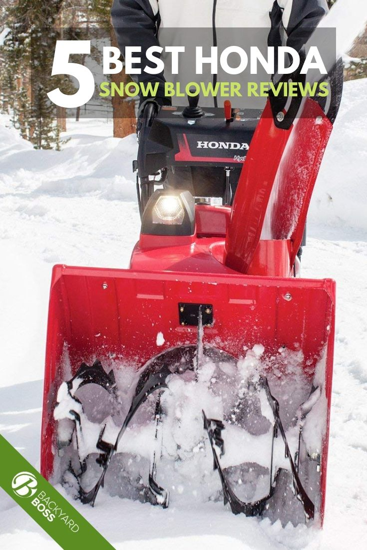 A Review Of Honda Snow Blowers For Easy Winter Yard Maintenance Snow Blowers Snow Blower Snow
