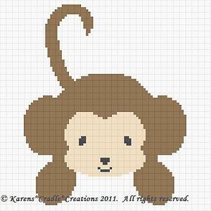 monkey cross stitch patterns - Bing Images