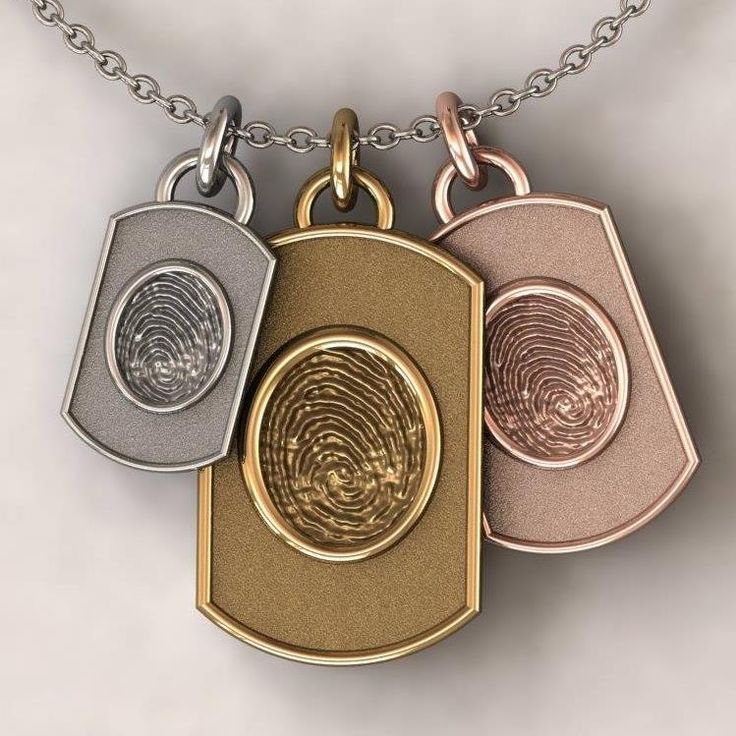 1000 images about men 39 s jewelery on pinterest ceramics for Fingerprint jewelry by first impressions
