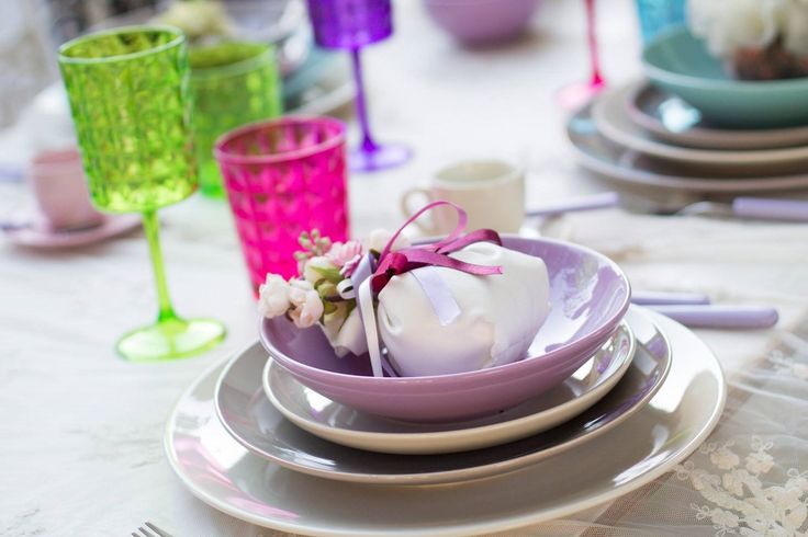 Boho chic table setting part2