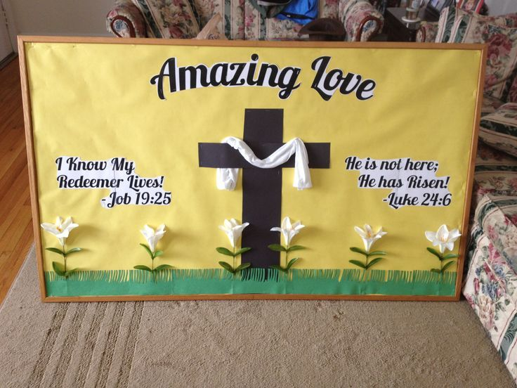 Easter Bulletin Boards For Church - Invitation Templates