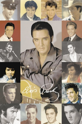 Elvis Presley Collage<3 I was born in the wrong decade. 1950/60s.