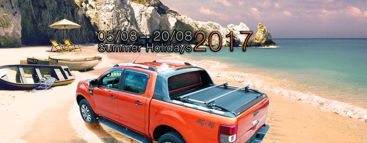 From #Tessera4x4 #accessories #team #happy #summer #holidays. Stay #tuned and #see you soon...