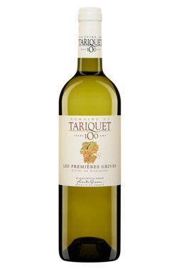 Domaine Tariquet Les Premières Grives 2012   Vin blanc, 750 ml   Code SAQ :  00561274 Code CUP :  03359880100025