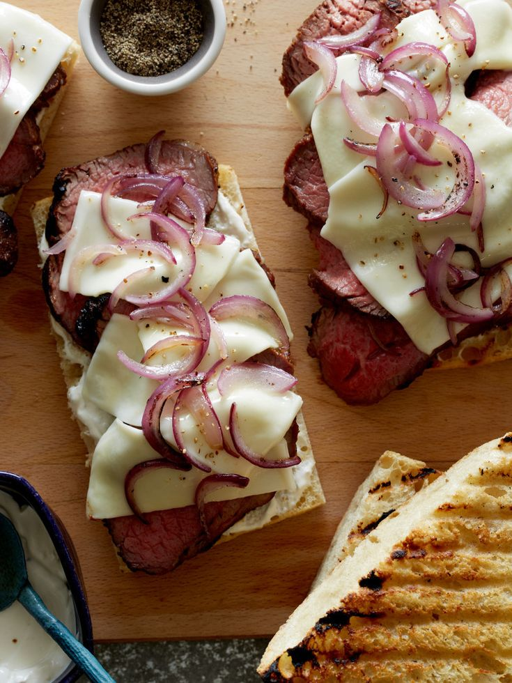 Grilled Tri Tip Sandwiches http://www.spoonforkbacon.com/2017/05/grilled-tri-tip-sandwiches/