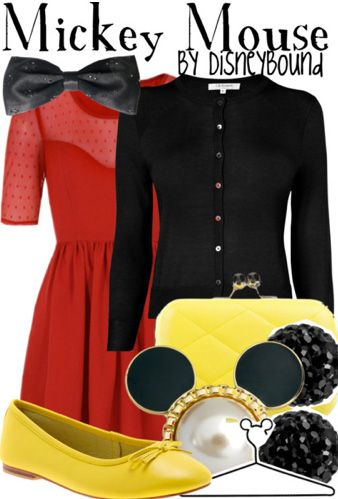 mickey mouse outfit   Disneybound