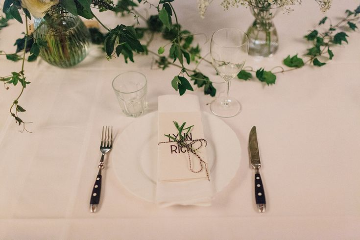artistic wedding detail