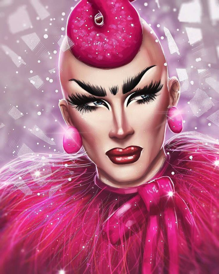 Rupaul's drag race season 9 Artist: Léo S. H. ART Sasha Velour