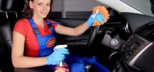 Как вымыть салон авто