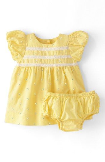 Mini Boden 'Sweet' Embroidered Dress (Baby Girls) available at #Nordstrom