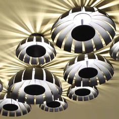 Loto Soffitto   Finitura Bianco Antracite Bronzo Foglia oro Foglia argento Foglia ossidata Foglia rame