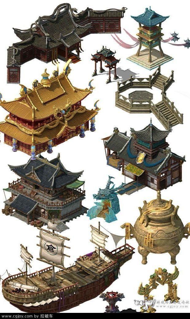 3转2中国写实游戏场景的搜索结果_360...@季子乌采集到场景/背景/建筑(967图)_花瓣