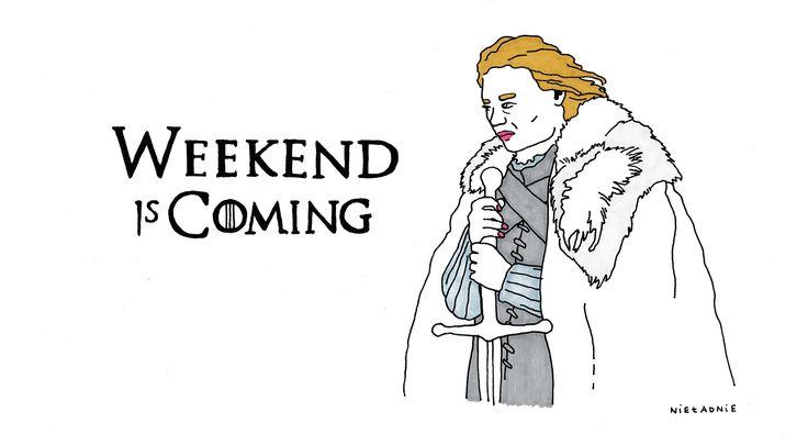 #winter #is #coming #winteriscoming #weekend #gameofthrones #nieladnie #nieladnierysuje #ilustracja #rysunki #kamila #szcześniak #illustration #drawing #sketching