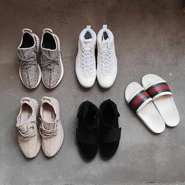 6ee5efb6e Daily Goods || by @alxndrrth #Adidas #Yeezy #Gucci #Red #Green #Love ...