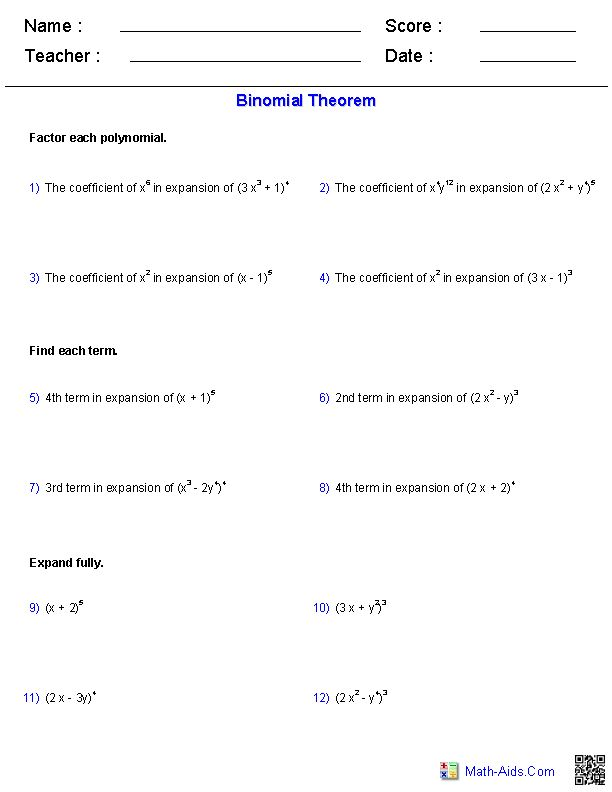 Best 25+ Binomial theorem ideas on Pinterest Math puns, Funny - arithmetic sequence example