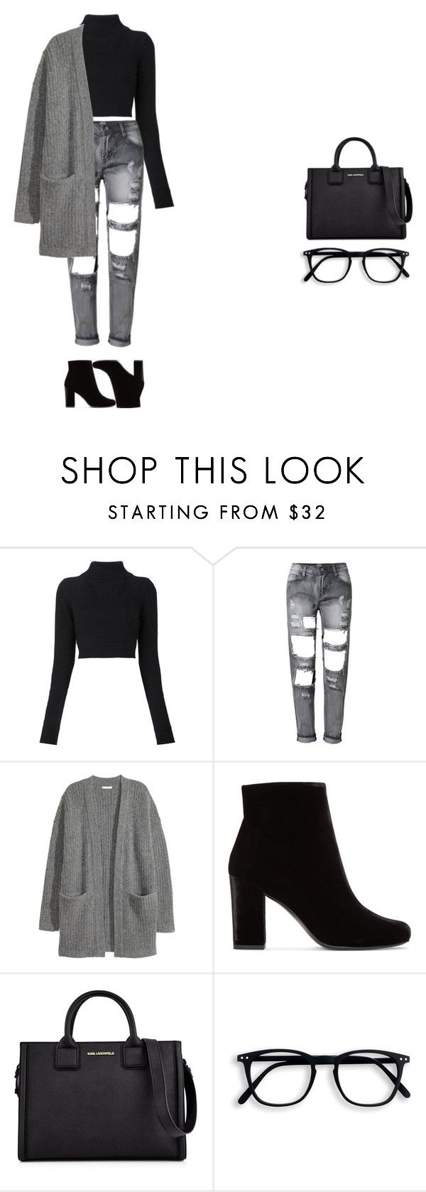 """star girl"" by xoxotiffvni on Polyvore featuring Balmain, Kofta, Yves Saint Laurent and Karl Lagerfeld"