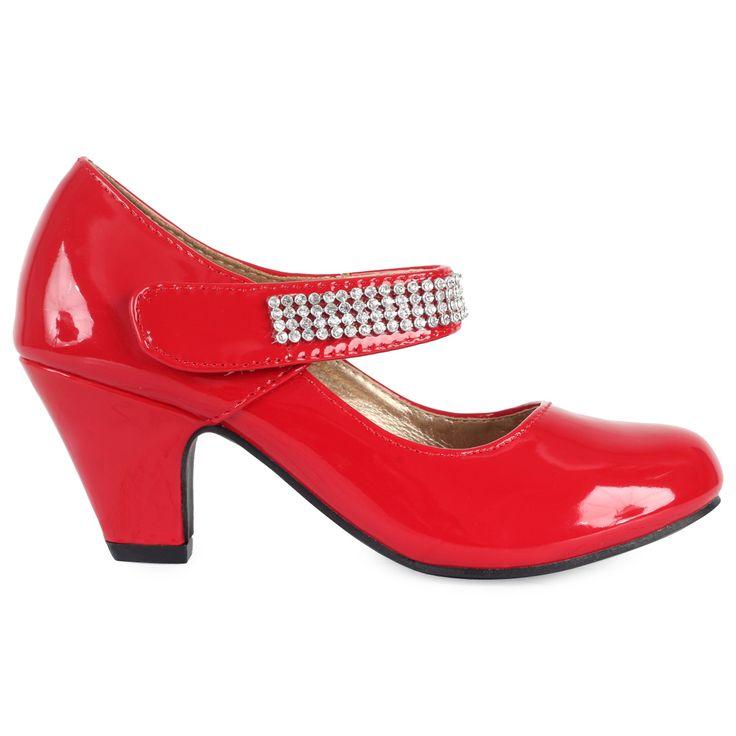 Toddler size 7 black dress shoes pumps