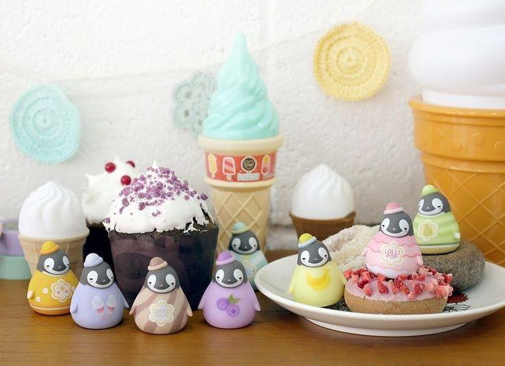 Korea Peperico Penguin Random Mini Figure Vol 3 Dessert 3 5 x 4 5 Cm | eBay