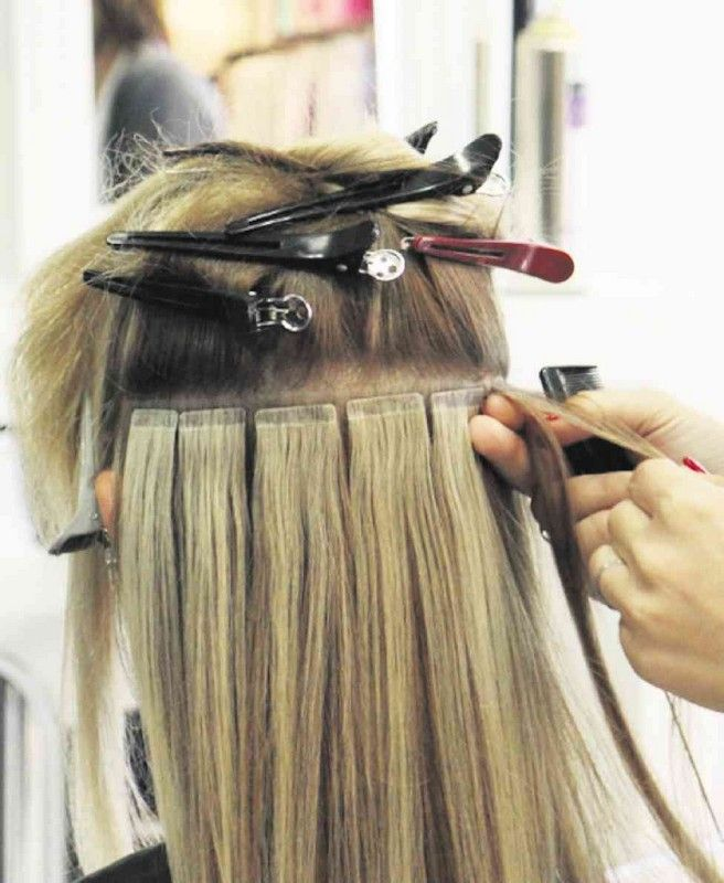 Hair Amp Beauty Glossary Hair Extensions Pinterest