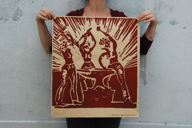 Bigorna - Serigrafia - Ana Torrie 2013