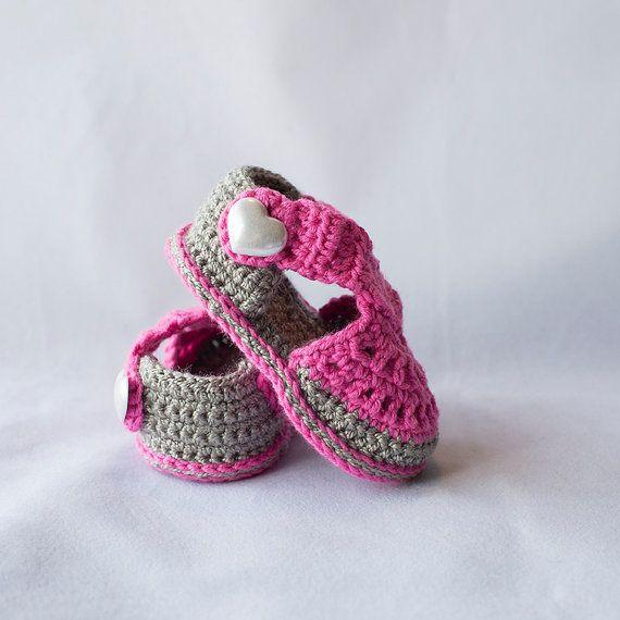 Gehaakte Baby sandalen baby meisje sandalen meisje
