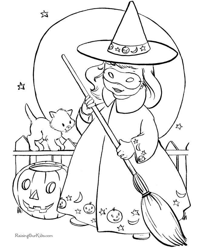 10 dessins d'halloween à imprimer gratuitement