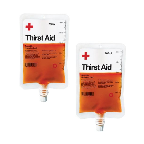 Thirst Aid Drink Pouch 2Pk design inspiration on Fab.