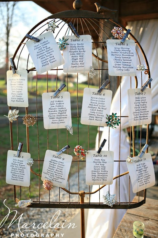 Love this for a wedding seating chart