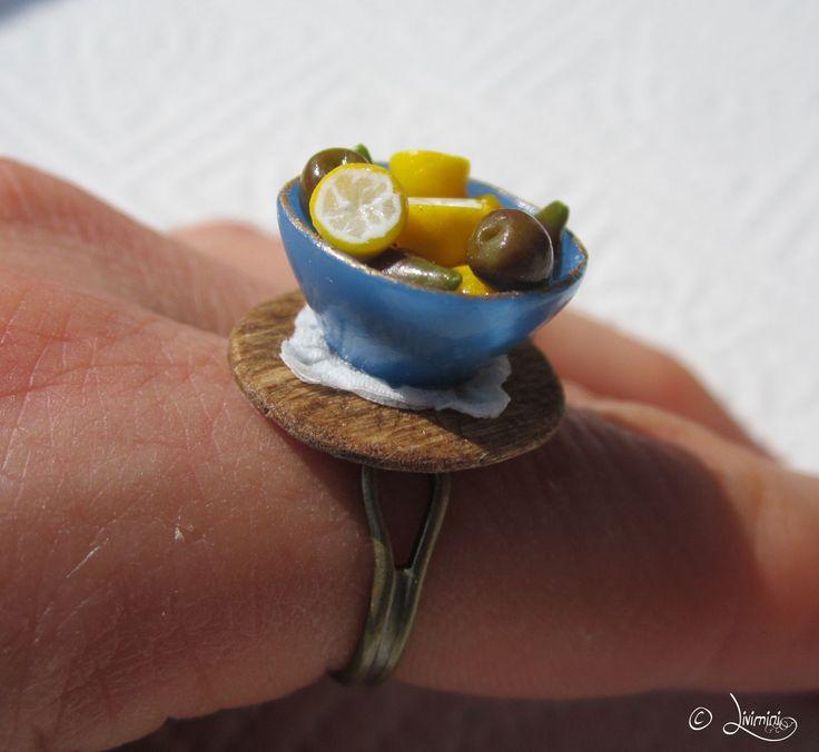 Figs and lemons in bowl - ring, fügék és citromok tálkában - gyűrű