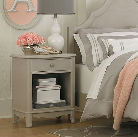 Bassett Baby Ava Nightstand Available At Lauteru0027s Fine Furniture # BassettFurniture #ChildrensNightstand