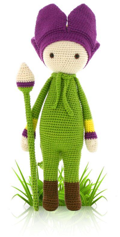 Amigurumi Flower Doll : 17 Best images about Zabbez crochet flower dolls on ...