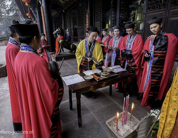 Chengdu Qingyang Gong Taoist monastery 2017
