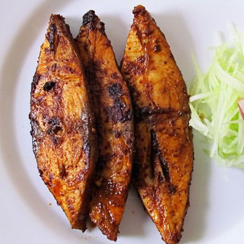 Masala fried fish recipe how to make masala fried fish for Vegetarian that eats fish
