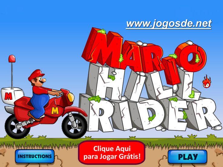 CLIQUE PARA JOGAR Mario Hill Rider Motocross no Click Jogos: relaxe com Mario e sua nova Moto fazendo manobras e vença obstáculos em uma divertida trilha!