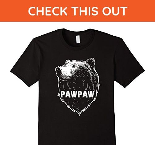 Mens PawPaw Bear T-Shirt Gifts for PawPaw Grandpa 3XL Black - Relatives and family shirts (*Amazon Partner-Link)