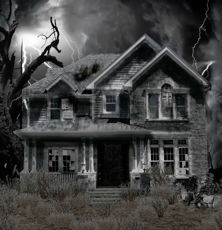 Real Life Haunted Houses Project 1 Haunted House Photo
