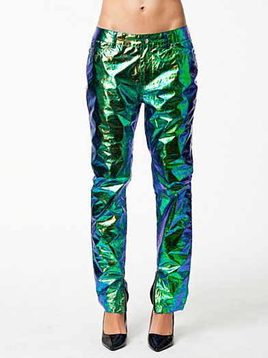ANNY LYCKMAN FOR ESTRADEUR HOLOGRAPHIC PANTS Trousers by FANNY LYCKMAN FOR ESTRADEUR.