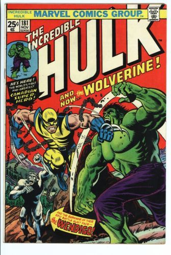 Incredible Hulk #181 Vol 1 Super High Grade 1st Appearance of Wolverine