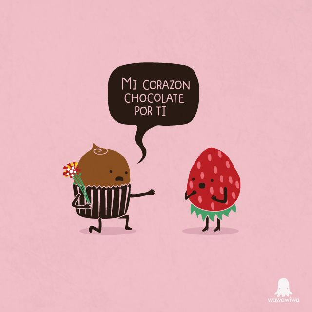 Corazon chocolate by Wawawiwa design, via Flickr