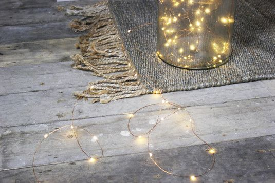 Holly's House - Copper String Lights