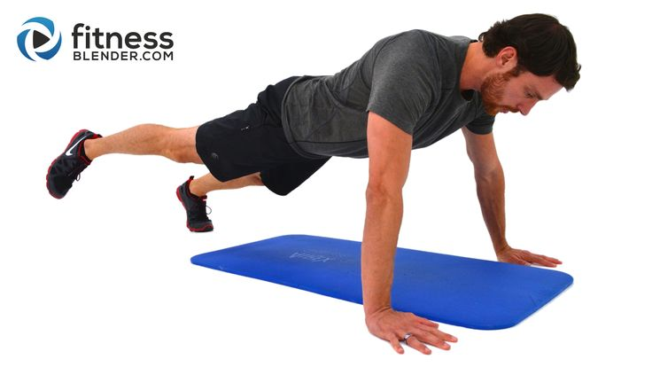 Killer at home chest workout without