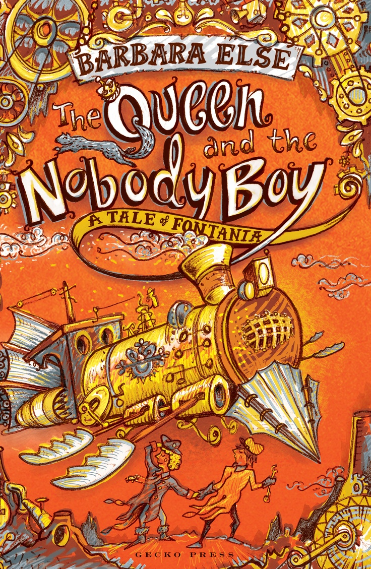 Scholastic Australia | March 2013 | The Queen and the Nobody Boy - A Tale of Fontania