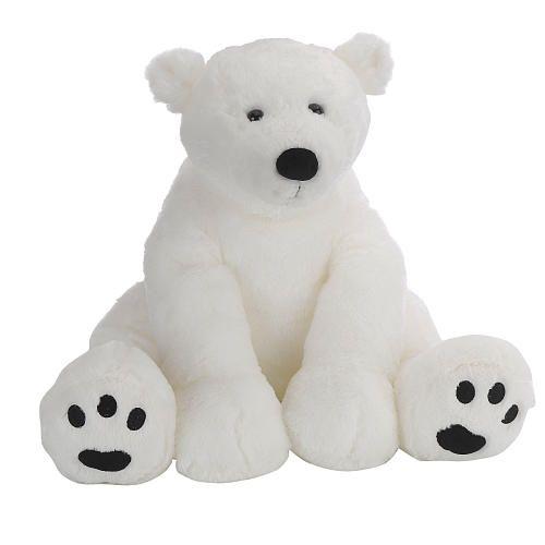 "Toys R Us Plush 15.5 inch Polar Bear - White -  Toys R Us - Toys""R""Us"